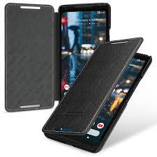 details about tetded premium leather case for google pixel 2 xl dijon ii lc black
