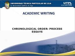 chronological order process essays academic writingchronological order process