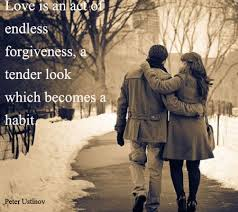 Love Is An Act Of Endless Forgiveness Zquotes Gorgeous Love Forgiveness Romantic