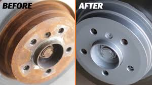 how to paint brake rotors