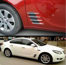 get ations know beans d2 electric car car door decorative stickers refit dedicated shark gill vents exterior