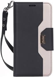Amazon.com: ProCase iPhone 11 Pro Max Wallet Case for Women Girls, Folding  Flip Case with Card Holder Wrist Strap for iPhone 11 Pro Max 6.5 Inch 2019  –Black