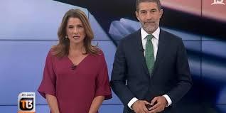 Periodista del canal 13