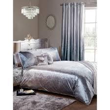 330090 330091 ombre velvet bedding silver