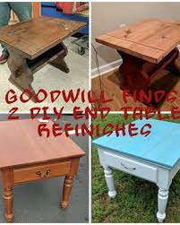 how to refinish a table or coffee table