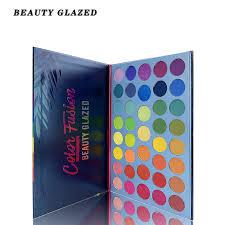 2019 <b>Beauty Glazed 35 Color</b> Shades Studio Rainbow Makeup ...