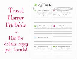 Free Trip Itinerary Planner 028 Template Ideas Disney Trip Planner Spreadsheet Or Travel