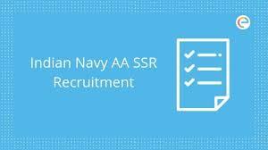 Indian Navy Recruitment Aa Ssr 2019 Check Eligibility Job