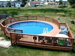 diy above ground pool winter cover fence design decks designs rustic the beauty of decoration wooden ideas yard fencing outdoor