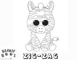 Beanie Boo Coloring Pages Hedgehog