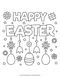 Easter Coloring Pages Ebook Happy Easter Coloring Pages Easter