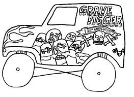 Small Picture monster truck coloring pages games monster jam truck sketch