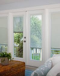 light touch enclosed blinds full doorlight double door 686 rlb 1 light
