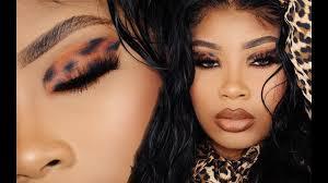 jungle fever cheetah eye makeup tutorial