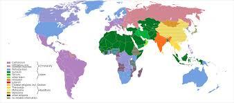 Major Religious Groups Wikipedia