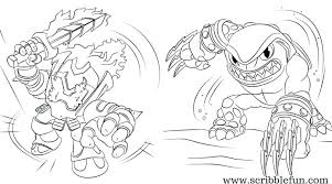 Skylander Coloring G9249 Coloring Pages Free Coloring Pages To In