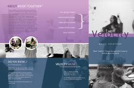 Music Brochure Music Together Brochure Velocity Music Academy 4