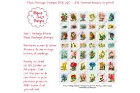 ✓ free for commercial use ✓ high quality images. Printable Faux Postage Stamps Set 1 Graphic By Marcycoatedesigns Creative Fabrica