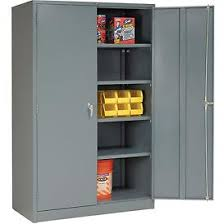Metal storage cabinets with doors Adjustable Shelves Cabinets Storage Global8482 Metal Storage Cabinet Easy Assembly 48x24x78 Gray 603357gy Globalindustrialcom Global Industrial Cabinets Storage Global8482 Metal Storage Cabinet Easy