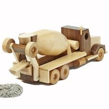 wooden concrete truck plans wooden toy plans and projects