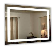 lighted vanity mirror wall mount. Wall Mounted Lighted Vanity Mirror LED MAM84836 Commercial Grade 48 Mount E