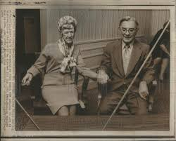 1974 Press Photo Representative Wilbur Mills Wife Poly | Historic Images