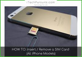 Push in, towards the iphone, but don't force it. How To Remove Sim Card From Iphone And Put A Sim Card In An Iphone