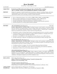 Hr Resume Objective 20 Human Resources Examples 5 Samples Easy