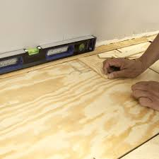 plywood suloor if you re installing a new floor