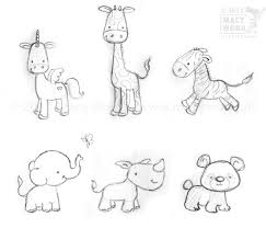 cute baby animal drawing. Exellent Animal Baby Animal Illustrations  Google Search  CUTE ILLUSTRATIONS Pinterest  Drawings Art And Illustration Inside Cute Baby Animal Drawing B