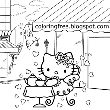 So you can buy hello kitty stuff there. Free Coloring Pages Printable Pictures To Color Kids Drawing Ideas Hello Kitty Coloring Sheets Free Cute Printables For Teenage Girls