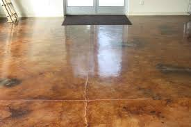 cost stained concrete floors cost vs tile stained concrete floors cost