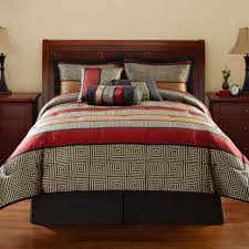 interior red brown bedding and comforters sets baby cream