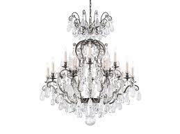 renaissance rock crystal chandelier