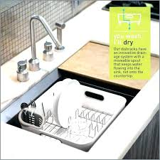 dish rack medium size of in sink drying 4 piece polder countertop clothes accordion drying rack wall mount mounted clothes polder countertop wal