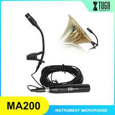 Nhạc cụ Micro Saxophone Micro cổ ngỗng chuyên nghiệp dàn nhạc nhỏ ngưng tụ  sân khấu cho guit cho đàn guitar vĩ cầm sax / Âm Thanh di động & Video