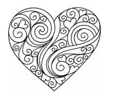Small Picture Printable Heart Coloring Pages Coloring Me