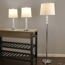 floor lamp and table lamp set great floor lamp of brushed steel 3 piece floor and floor lamp and table lamp set