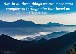 Image result for Romans 8:37
