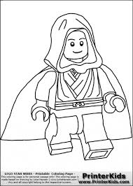 Small Picture Skywalker From Lego Star Wars Kids Printable Coloring Page Fun
