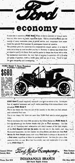 henry ford yesteryear once more ford economy