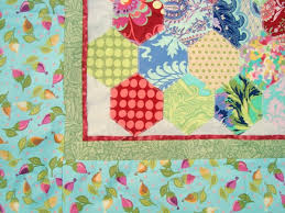 5 inch Hexagon Template Printable and Baby Quilt Pattern - & Grab a pile of 5″ fabric squares and sew yourself an extra large hexagon  quilt! This baby sized quilt is perfect for beginners. No hand sewing  required. Adamdwight.com