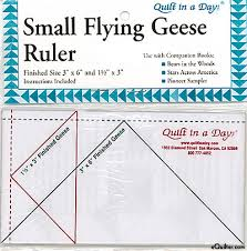 eQuilter Quilt in a Day - Small Flying Geese Ruler & Quilt in a Day - Small Flying Geese Ruler Adamdwight.com