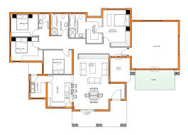 modern house plan modern 4 bedroom house plans south africa stunning tuscan corglife
