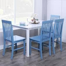 blue dining room set. +2 Blue Dining Room Set