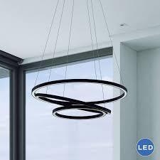 tania trio vmc32500bl modern three tier led chandelier