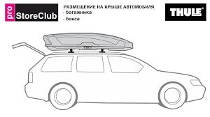 Как: оптимально разместить <b>багажник</b> и бокс на крыше ...