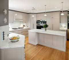 White Kitchen Cabinets With Granite Countertops  BayTownKitchen - White granite kitchen