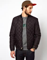 November, 2013 | Fit Jacket & Penfield Landrum Quilted Bomber Jacket in Black for Men | Lyst Adamdwight.com