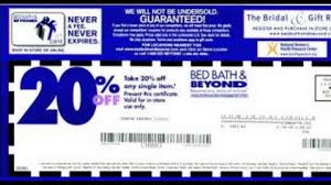 Bed Bath And Beyond Expired Coupons 2014